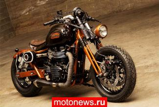 Мотоцикл Triumph Bonneville в версии Officine GP Design