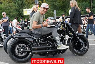 Фото нового мотоцикла Harley-Davidson Fat Boy Криса Пфайфера