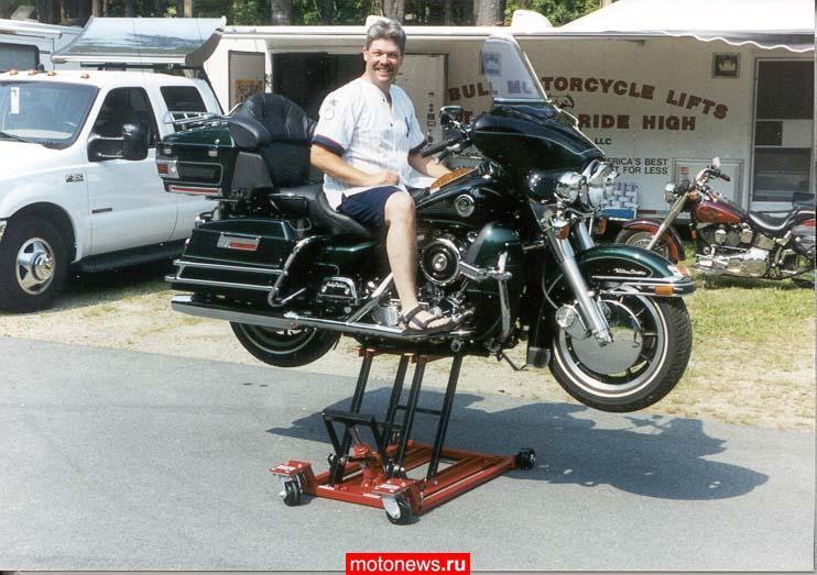 Мотоциклетный подъемник своими руками - Все Березники